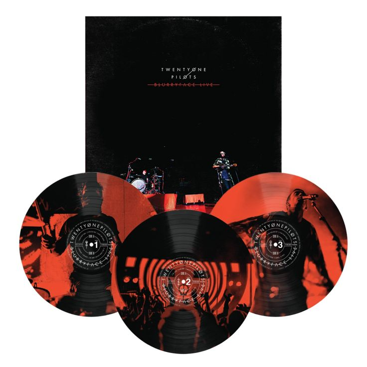 Blurryface Live Vinyl- ONLY available on 21p web store