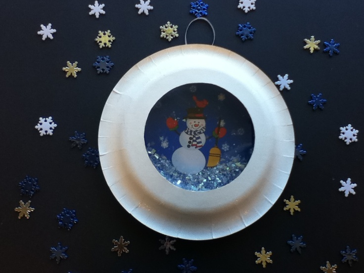 Storytime ABC's: Craft: Snowball Snowglobe