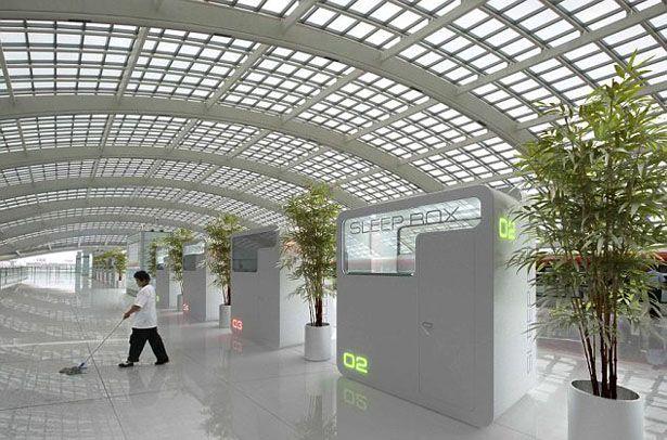 SleepBox at The Sheremetyevo International Airport in Moscow