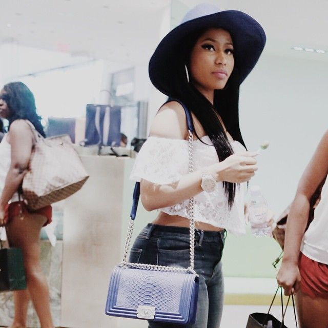 Nicki Minaj @nickiminaj Bag by Chanel... ...Instagram photo | Websta (Webstagram)