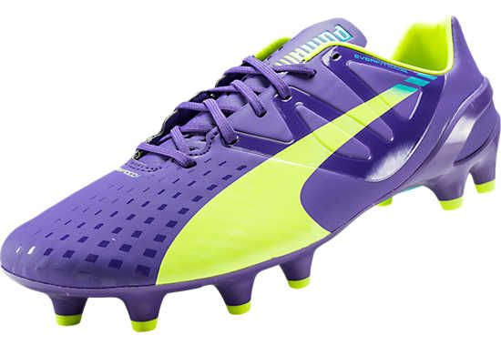 Puma evoSpeed 1.3 FG Soccer Cleats - Prism Violet...Available at ...