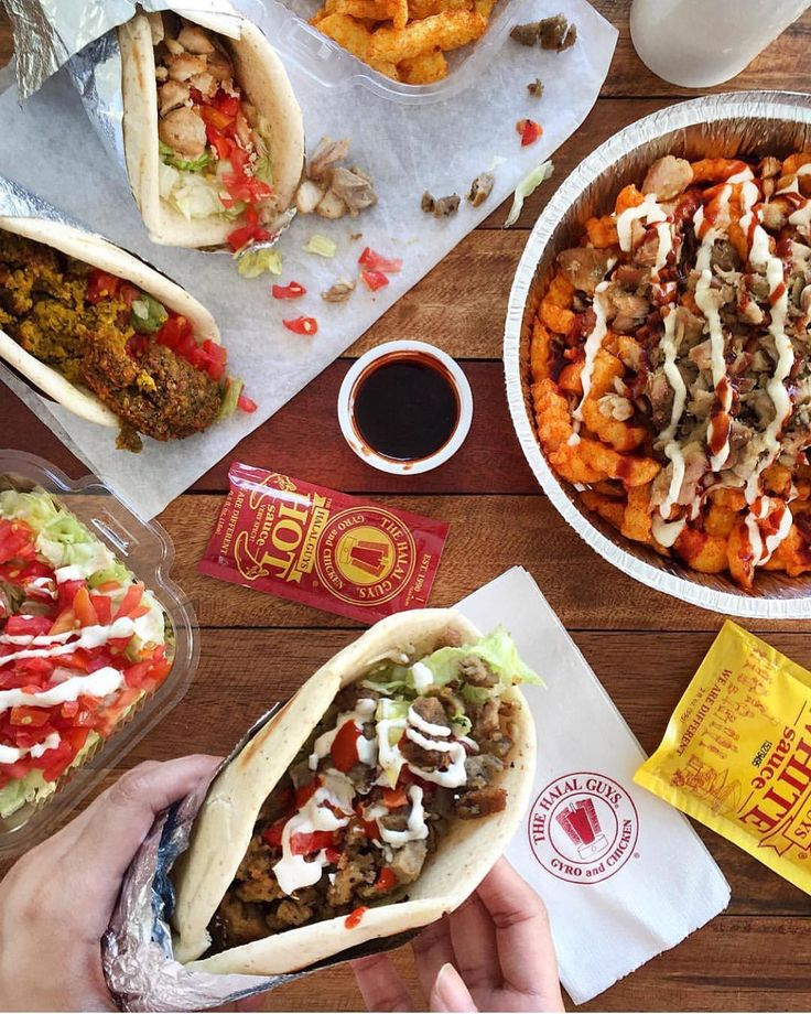 NOW OPEN: The Halal Guys - SM Mall of Asia A famous street cart from New York serving rice platters sandwiches falafels & their famous white and hot sauce  @gomanila # #bookymanila  View its exact location on our app!  Tag your friends who love food