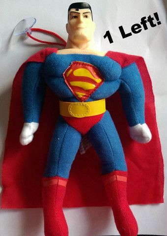 Superman plush toy 26-28cm tall