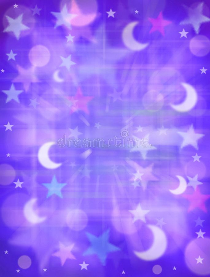 Abstract Stars Moon Dreams Background A Background Of Stars And Moons With Purp Sponsored Dreams Background Dream Background Stars And Moon Abstract