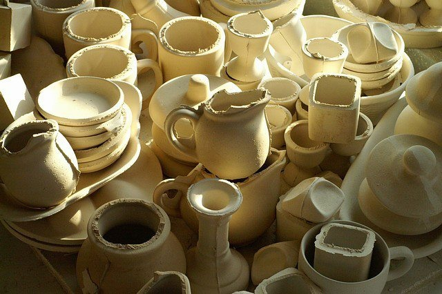 hand-made cups