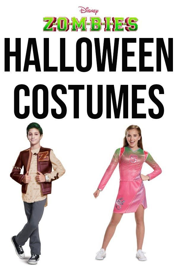 Zombie Halloween Costumes For Kids 2020 Dress Up in Disney Zombies Costumes! in 2020 | Zombie disney