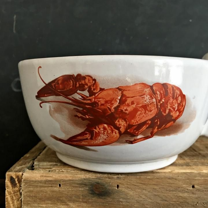 Image result for vintage lobster soup