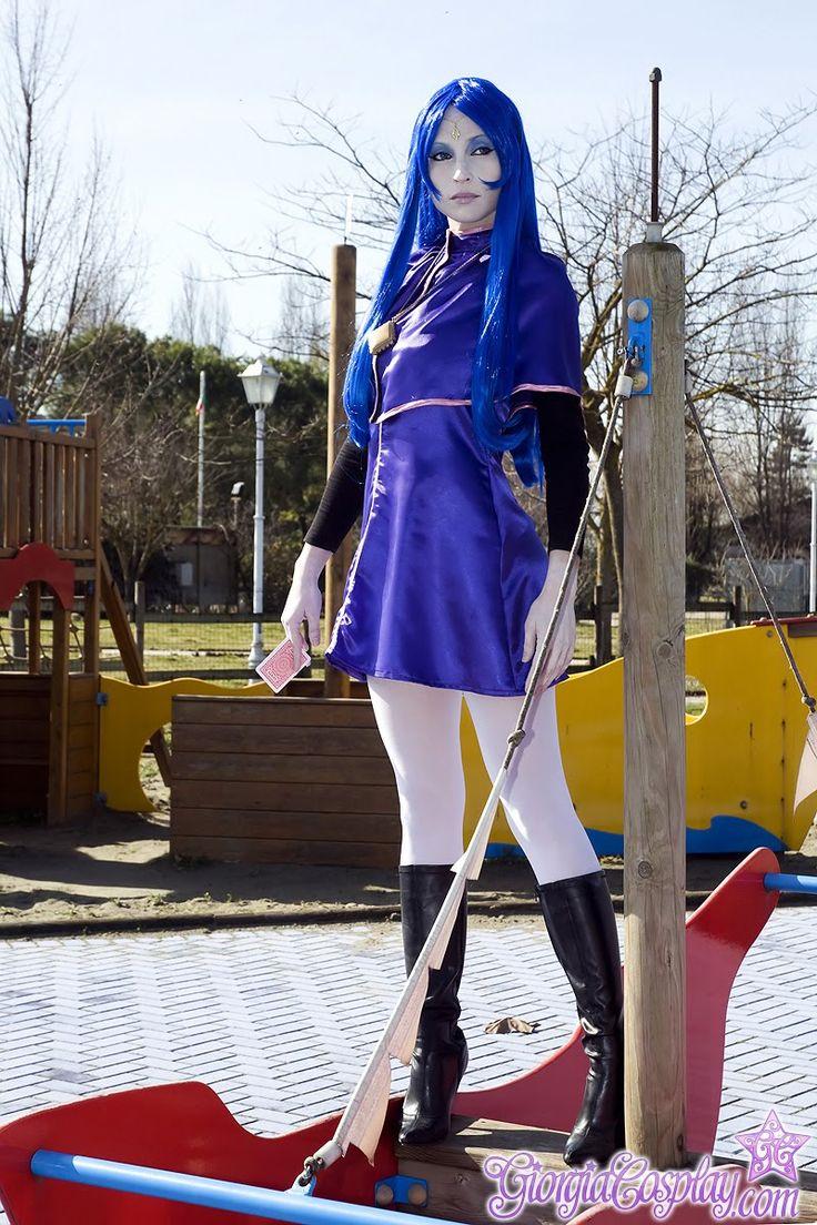 Character: Non. Anime: Majokko Megu-chan. Cosplayer: Giorgia Vecchini. Data: +/- 2006 Photographer: Daniele Faccioli 2010