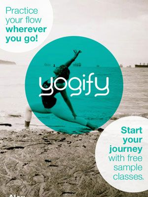 Yoga is my favorite for my extra day of workout, and this app looks awesome!