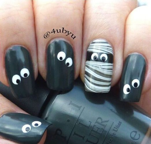 Рисунки на ногтях на Хэллоуин (40+ фото) Рассмотрим варианты для тех, кто хочет как следует повеселиться и создать рисунки на ногтях на Хэллоуин. Можно украсить свои ноготки летучими мышками... #маникюр #ногти Ещё фото http://halloweenmarket.ru/%d1%80%d0%b8%d1%81%d1%83%d0%bd%d0%ba%d0%b8-%d0%bd%d0%b0-%d0%bd%d0%be%d0%b3%d1%82%d1%8f%d1%85-%d0%bd%d0%b0-%d1%85%d1%8d%d0%bb%d0%bb%d0%be%d1%83%d0%b8%d0%bd/