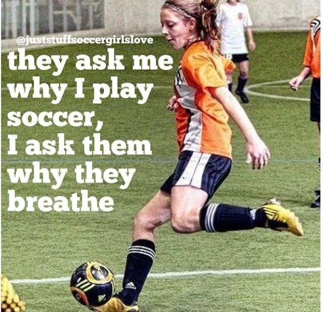 :) exactly. When we say soccer is life, we mean it!