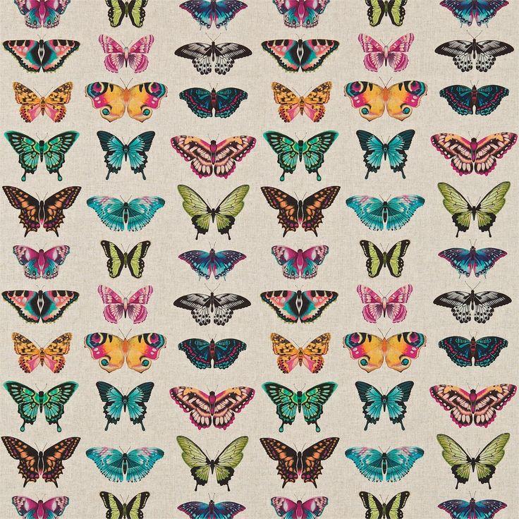 Harlequin - Designer Fabrics and Wallcoverings | Products | British/UK Fabrics and Wallpapers | Papilio (HAMA120344) | Amazilia Fabrics