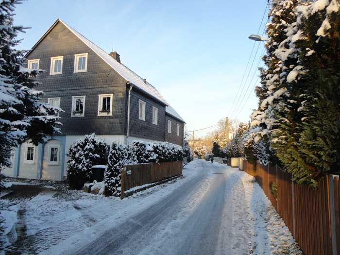 At Christmastime in Neusalza-Spremberg Upper Lusatia - East Germany (27.12.2014)