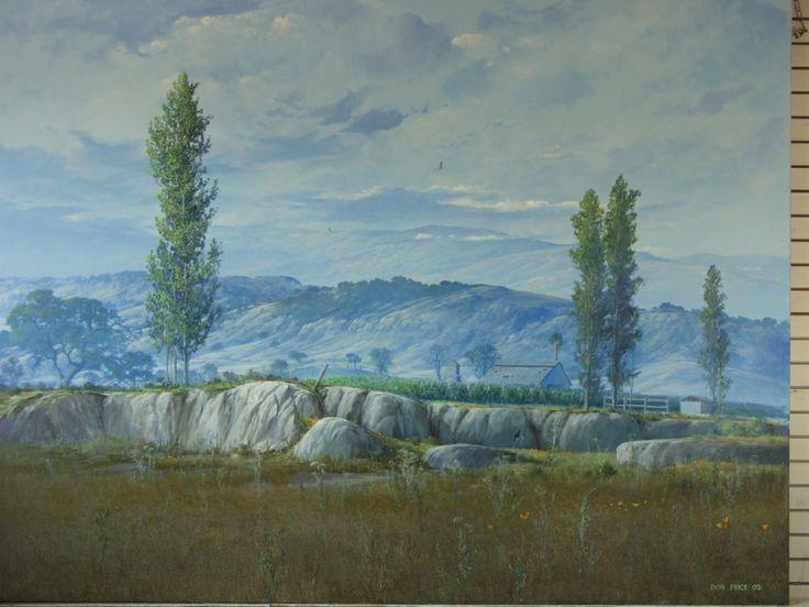 The farm original oil painting don price art studios for Oil paint price