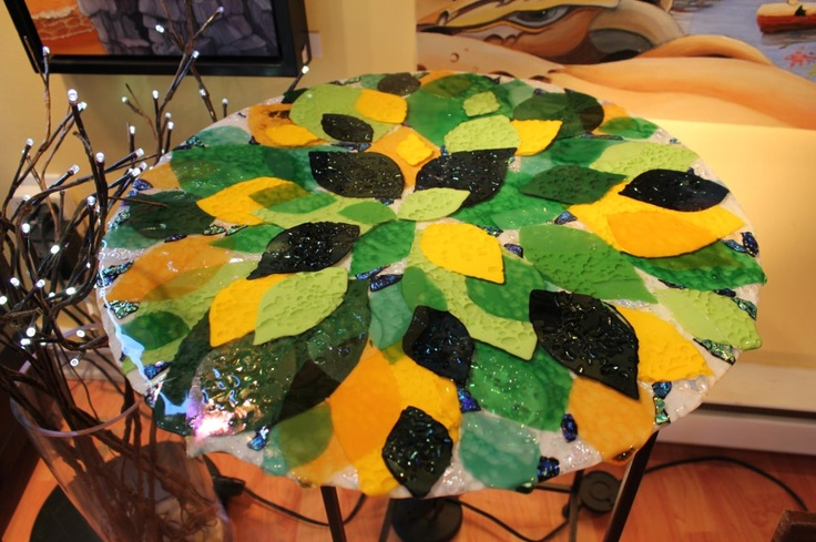 Leafy Table Top by Karena Lawrence