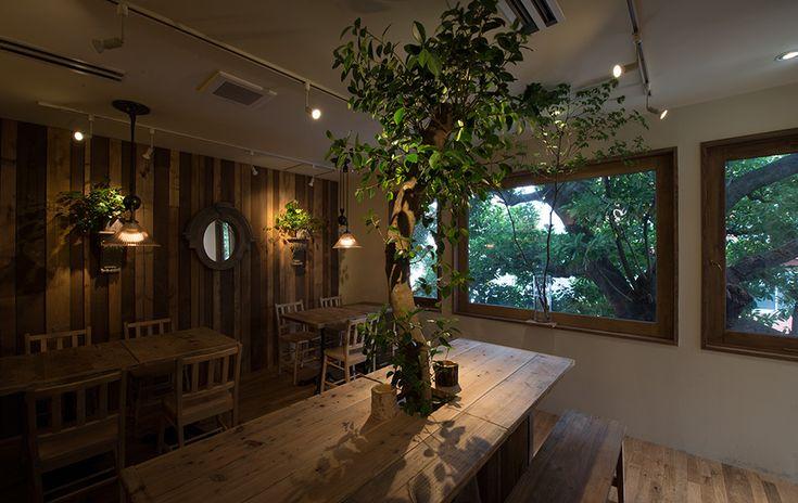 レ・グラン・サンブル【広尾】 ツリーハウスがシンボルの花屋&Cafe