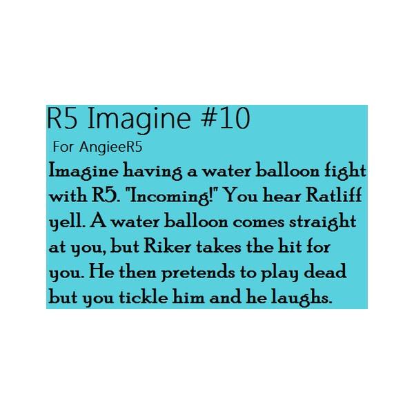 Imagine it R5! via Polyvore