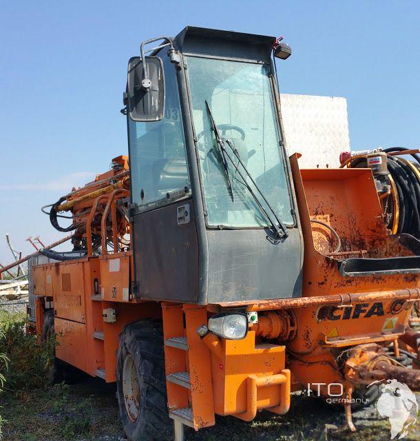 CIFA CSS 3 Concret Pumpe used for sale http://www.ito-germany.com/for-sale/cifa  Cifa CSS-3 shortcret pump #mining #Baumaschinen #hydropower #tunneling #loader #Heavyequipment #Mineria #Bergbau #Gothartunnel #Baustelle