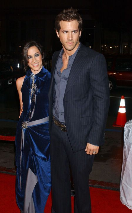 Ryan Reynolds and Alanis Morissette, had formerly been engaged, together 2002 to 2006