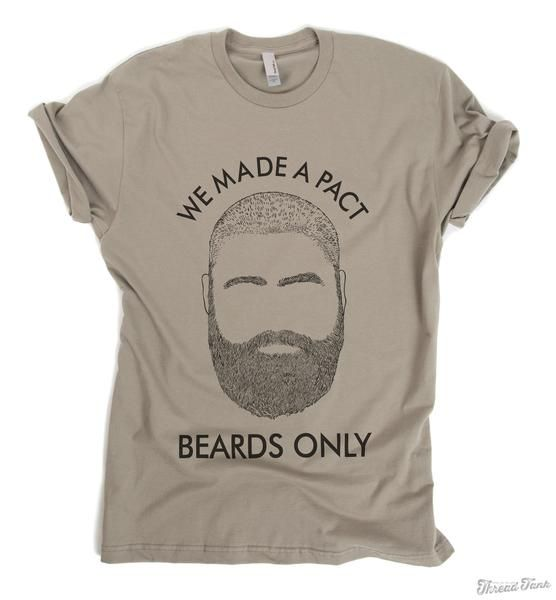 We Made A Pact. Beards Only Inspired by Alan from The Hangover