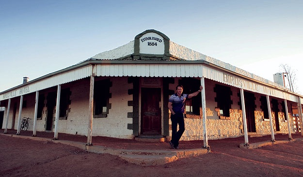 This takes me to the outback again! Birdsville pub
