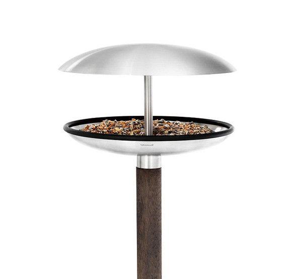 FUERA BIRD FEEDER/BIRD BATH @ puremodern.com  $125