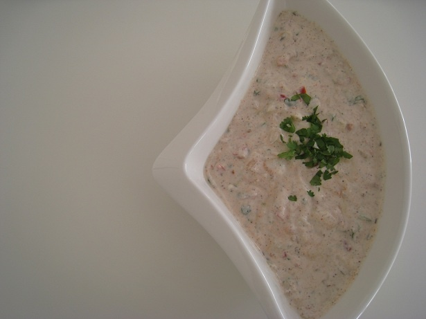 Feel like eating Raita (Spicy Yoghurt) with Biryani today!    www.facebook.com/cookingwithease