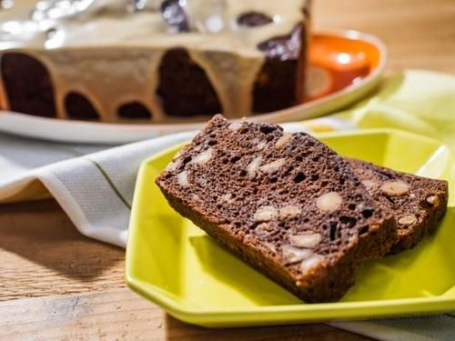 """Chocolate Peanut Butter Banana Bread (Easy Does It) - Katie Lee, """"The Kitchen"""" on the Food Network."""