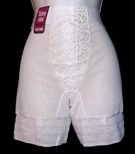 Deadstock Vintage A CHIC MODE CREATION Plus Panty Girdle Garters Sz 38 NOS #ChicModeCreation