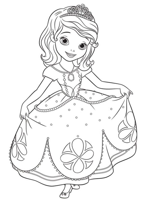 Disegno Da Colorare Principesse Fredrotgans