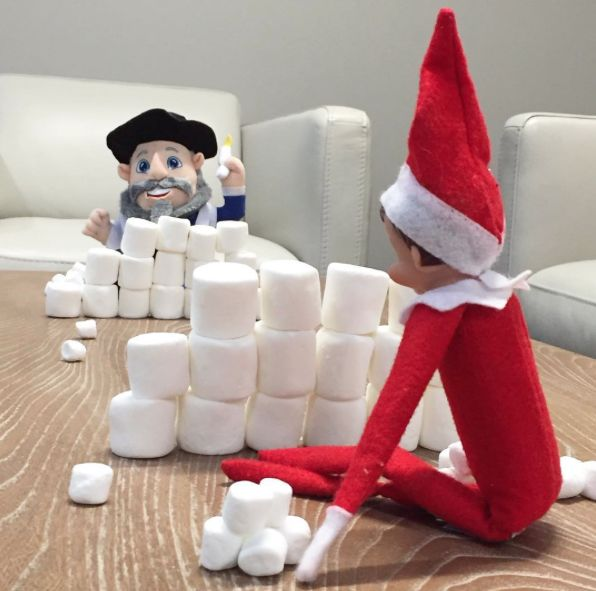 Marshmallow-ball fight! | Mensch on a Bench                                                                                                                                                                                 More