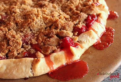 Cherry Apple Crumb Tart.....looks easy and sooo yummy. Going to try this soon!