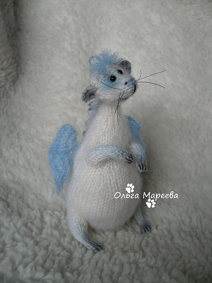 knitted toy by olga mareeva.