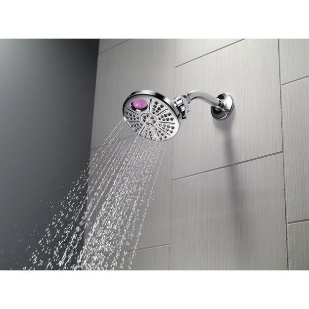 This temperature display so you never get in to a too-hot or too-cold shower again. | 27 Things You Need To Have The Perfect Shower
