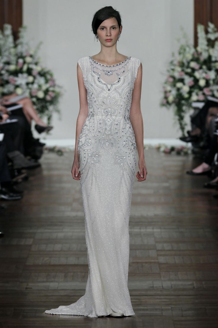 The glits and glamour of a formal NYE or winter wedding. Jenny Packham ESME.