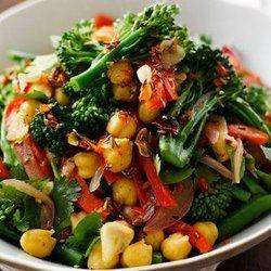 Atul Kochhar's Salad Of Broccoli And Chickpeas