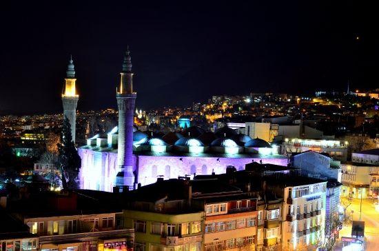 Bursa Ulucami fotoğrafı. Fotoğraf: Ahmet Pınar