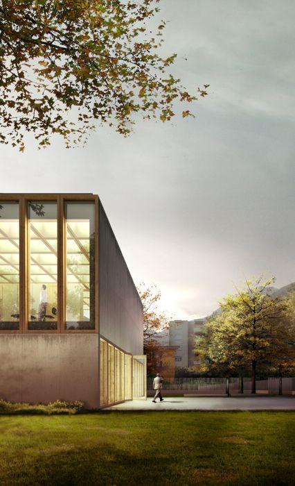 Kindergarten and Multi-Purpose Hall / ABCG Archittettura & Lopesbrenna Architettii