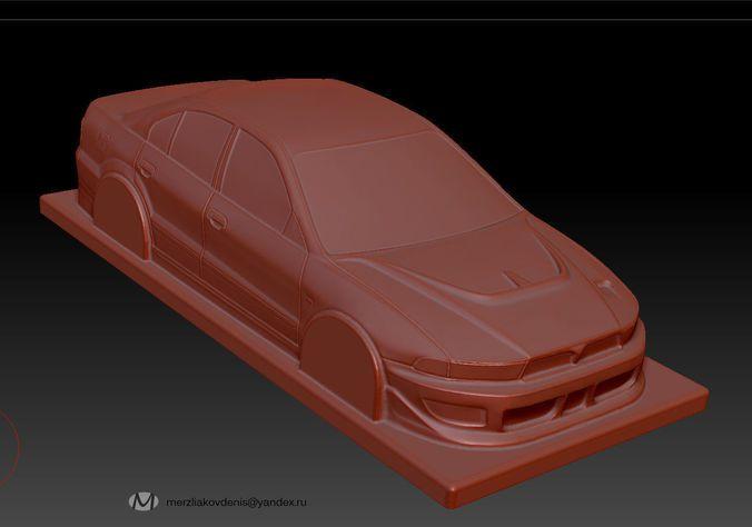 mitsubishi   3D Print Model