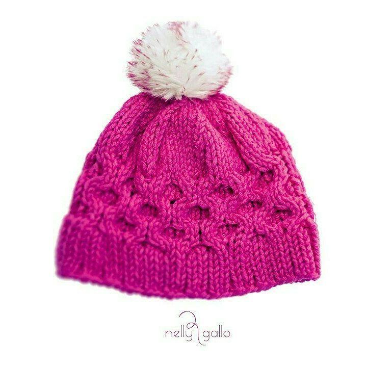 "#handmade #hat #hatknitting #cap #knitcap #knitting #needles #pompoms#wool 20%#acrilyc…"""