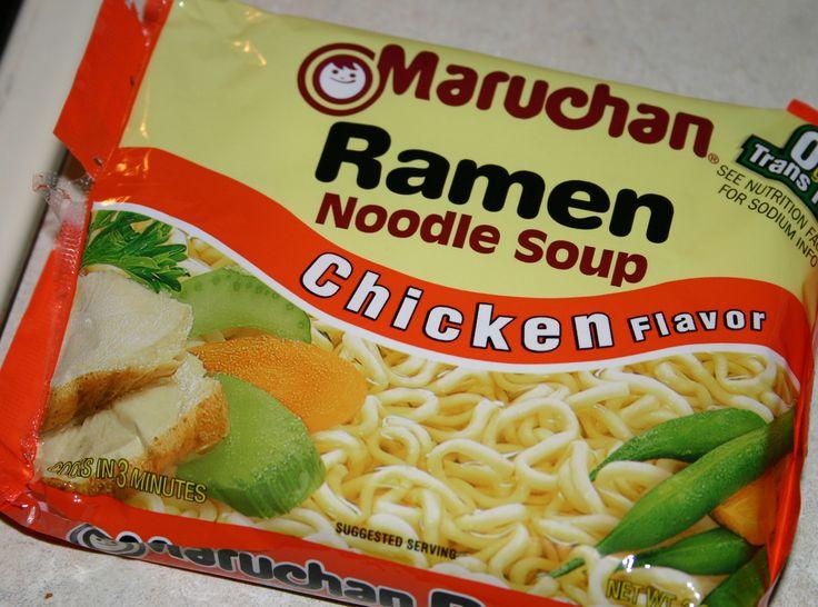 Egg Drop Ramen Noodle Soup Recipe | Just A Pinch Recipes
