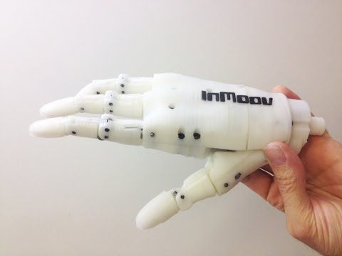 InMoov » open-source 3D printed life-size robot