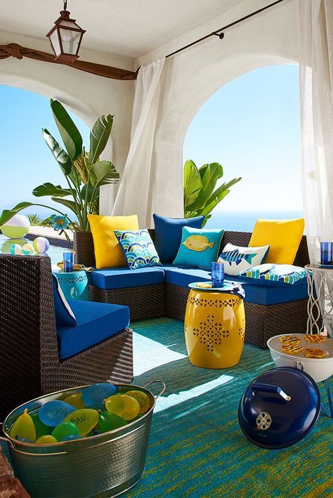 Pier 1 S Ciudad Outdoor Sectional Collection Is Designed