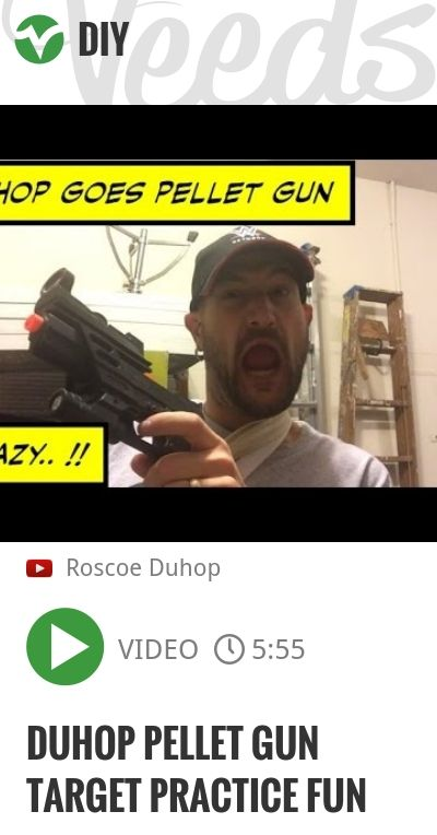 Duhop PELLET GUN TARGET PRACTICE FUN | http://veeds.com/i/YZ-AEtQ5500GApb9/diy/
