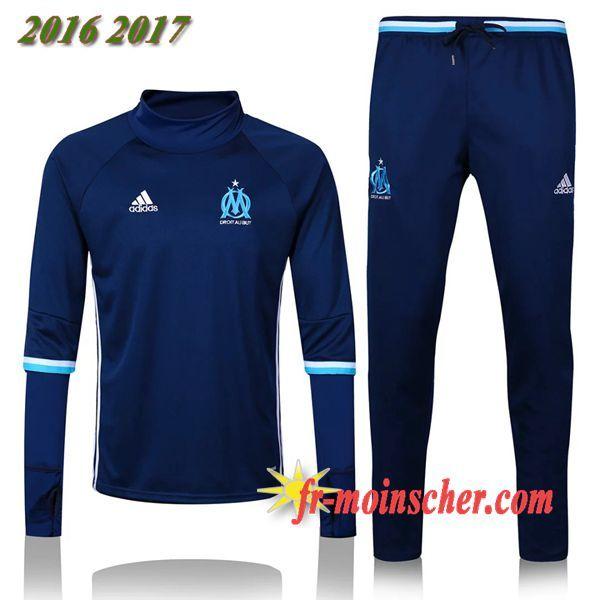 Le Nouveau:Survetement de Marseille OM Bleu Marine 2016 2017