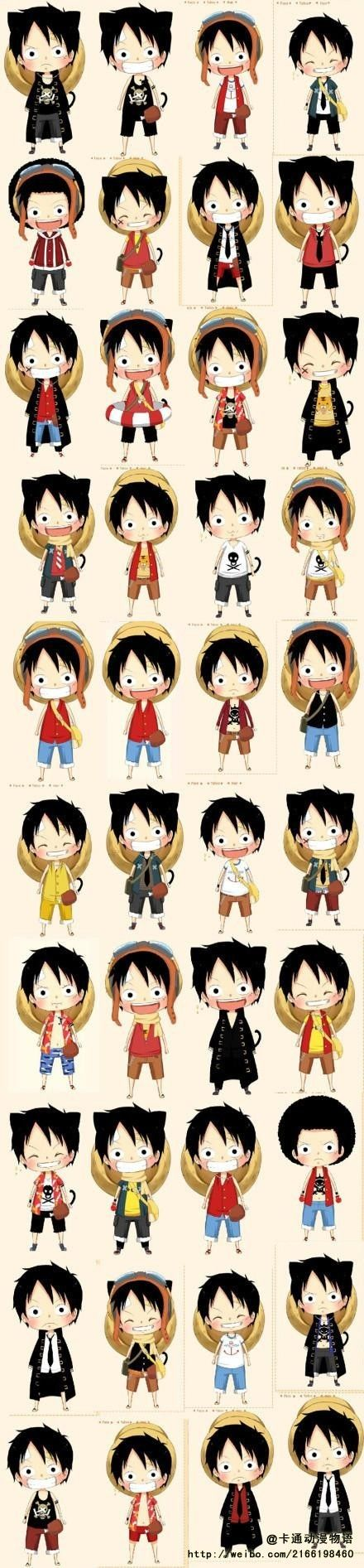 Adorably Luffy! #OnePiece #anime #luffyness