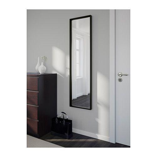 nissedal spiegel schwarz ikea