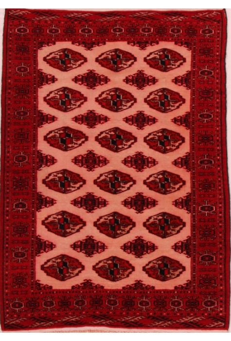 Turkman Persian rug. Wool. Hand Knotted. 94 x 137 http://www.rugman.com/persian-turkman-design-oriental-area-rug-small-size-wool-red-rectangle-400-16444