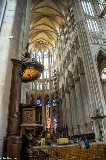 Beauvais, France. The Saint Pierre de Beauvais Cathedral. by Pol Bacquet