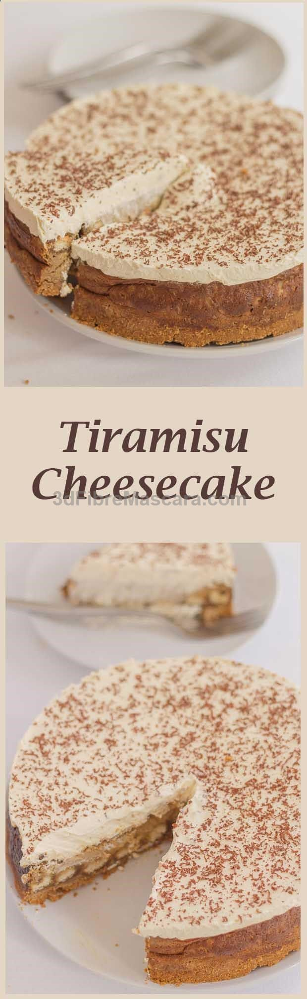 Here, the delicious Italian coffee-flavoured dessert is made into an equally delicious cheesecake. Still indulgent and heavenly tasting, but with a reduced calorific content. #diet #dieting #lowcalories #dietplan #excercise #diabetic #diabetes #slimming #weightloss #loseweight #loseweightfast